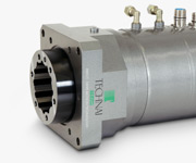 Servo-actuators for rotary drive-nuts CHR